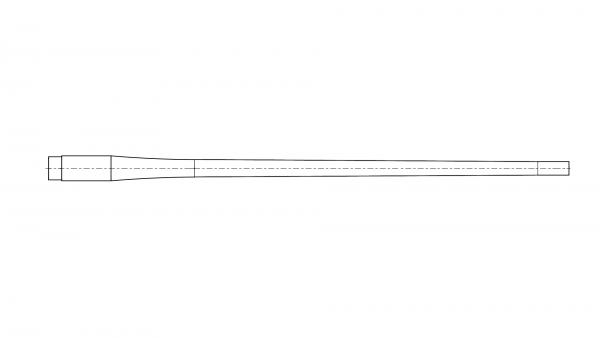 "Contoured blank | .270 | MuD:.65"" | L:25"" | it. nr. 1249"
