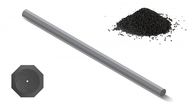 Blackpowder Blank OCTAGON - Twist:47.2"