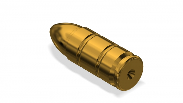 Dummy Cartridge Brass | 4,6x30mm