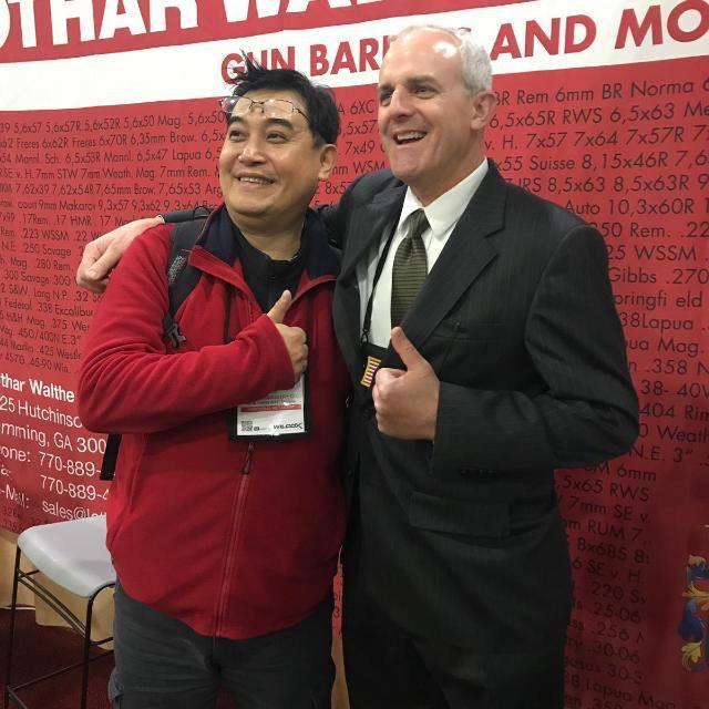 Lothar Walther gun rifle barrels ShotShow 2018 18 Las Vegas Nevada Sands Expo.jpg